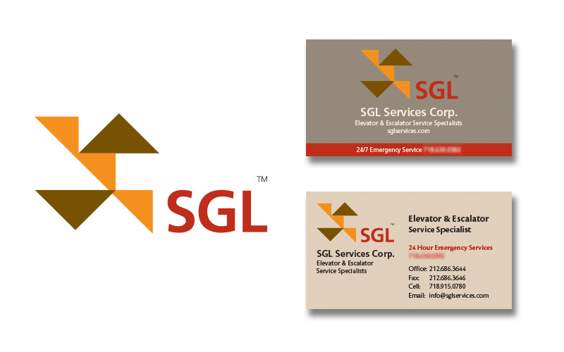 SGL Logo & Business Card