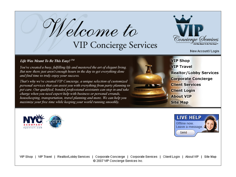 concierge website